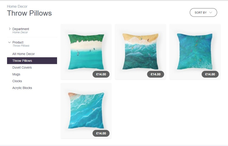 RB Pillows
